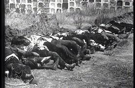 Escena lamentable y frecuente en la posguerra española puesta en marcha por el régimen franquista
