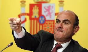 Luis De Guindos, ministro de economía del gobierno del PP